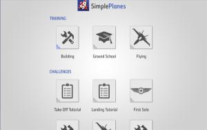 Hauptmenue Simple Planes