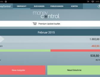Finanz-App MoneyControl im Praxistest