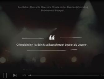 Songtitel erkennen mit Musixmatch
