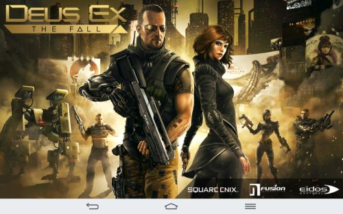 deus ex the fall test Android
