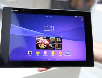 Wasserdichtes Tablet Sony Xperia Z3 Compact