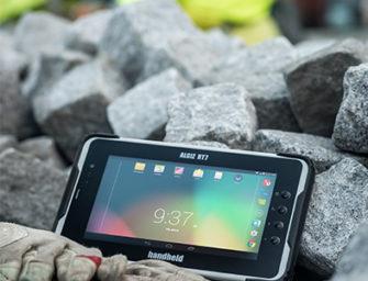 Robustes Tablet ALGIZ RT7 mit Upgrade