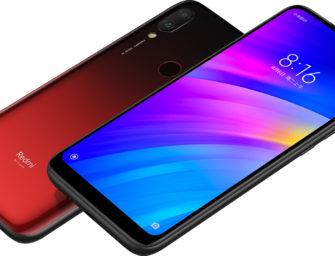 Xiaomi Redmi 7 Einsteiger-Smartphone